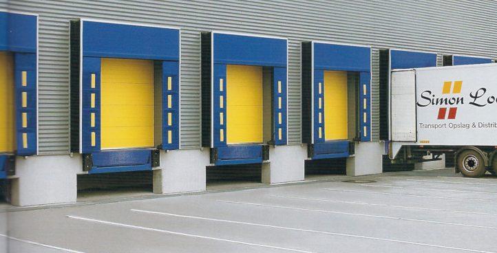 Endüstriyel sanayi kapılar